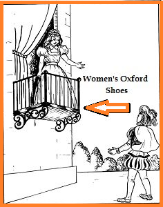 Romeo & Juliet promoting Women's Oxford Shoes