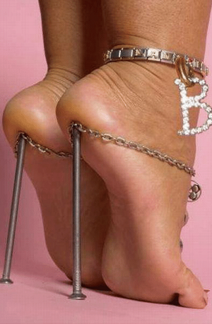 Nails for high heels